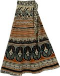 Peruvian Long Wrap Around Skirt