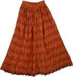 Flares Bohemian Crinkled Spring Skirt