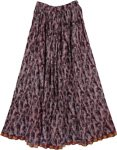 Cocoa Bohemian Fashion Skirt