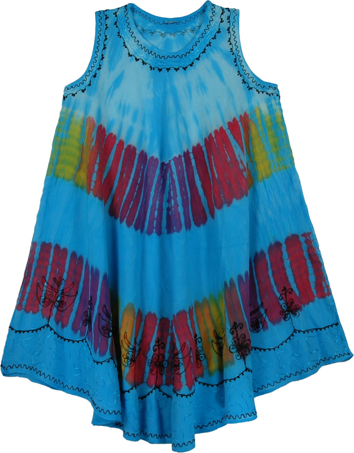 Exotic Fountain Beach Coverup