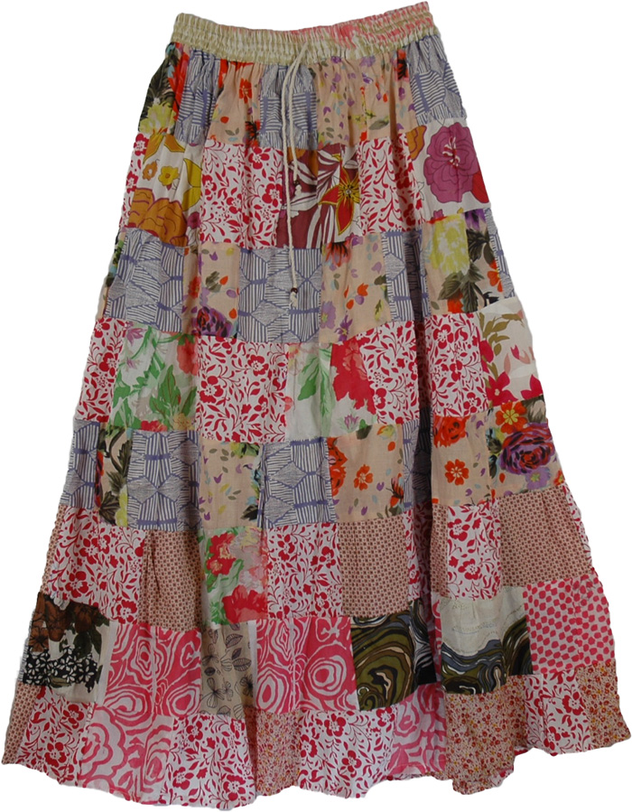 Garnet Gypsy Summer Long Skirt