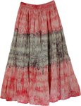 Tie Dye Pretty Swirl Skirt