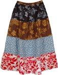 Bloom Summer Cotton Long Skirt