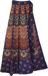 Arizona Gypsy Blue Wrap Around Skirt