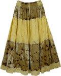 Sun-n-Beach Tie Dye Cotton Skirt