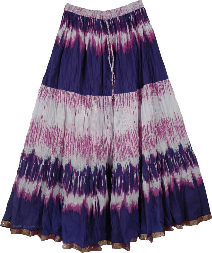 Jacarta Blush Summer Long Skirt   Clothing   Printed