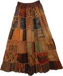 Paarl Panel Boho Skirt