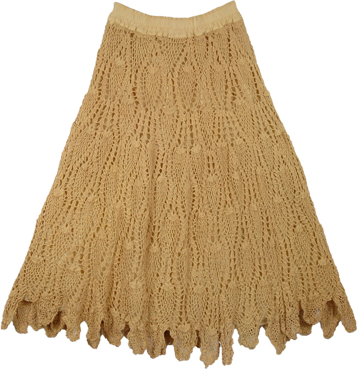 Free Crochet Wrap Skirt Pattern : Yellow Earth Skirt All Crochet Pattern Clothing ...