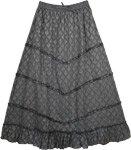 Empress Grey Designer Skirt