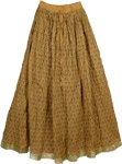 Tussock Crinkle Long Skirt