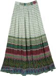Summer Breeze Cotton Beaded Tall Skirt