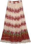 El Salva Flora Printed Maxi Skirt