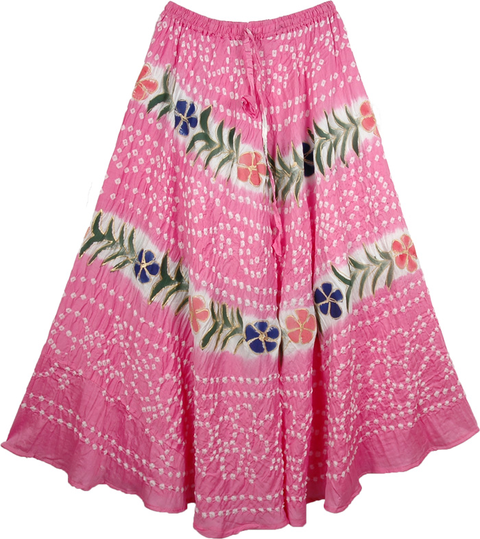 Deeply Blushed Cotton Skirt