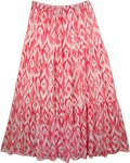 Amaranth Freedom Maxi Skirt