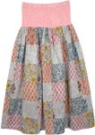 Rustic Culture Patch Summer Skirt