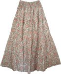 Contessa Orchid Womens Long Skirt