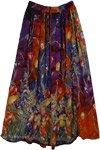 Lava Printed Street Skirt