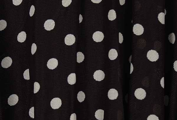 Polka Dot High Low Skirt