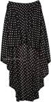 Polka Dot High Low Skirt