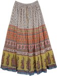 The Pastels Cotton Long Skirt