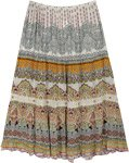Amour Jaipur XL Long Skirt with Lace and Rhinestones
