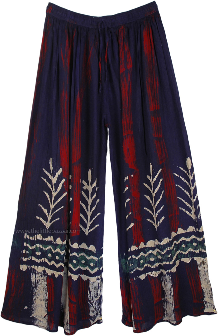 Tie Dye Batik Long Pants
