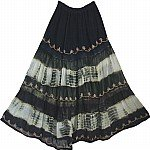 Womens Long  Black Skirt Fall Fashion