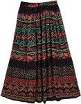 Tribal Dance Colors Skirt