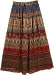 Floral Santa Maria Skirt