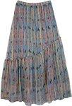 Womens Chiffon Long Skirt