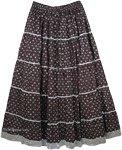 Starry Night Brocade Skirt