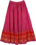 Hibiscus Cotton Patio Skirt