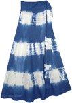 Blue Tie Dye Oceans Skirt