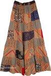 Paarl Panel Boho Patchwork Skirt