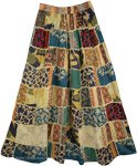 Gypsy Patchwork Boho Skirt