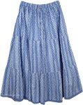 Steel Blue Cool Skirt
