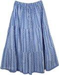 Steel Blue Cool Skirt