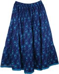 Bunting Blue Pull-On Skirt