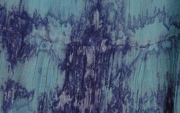 Fiord Marble Tie Dye Blue Skirt Tie Dye