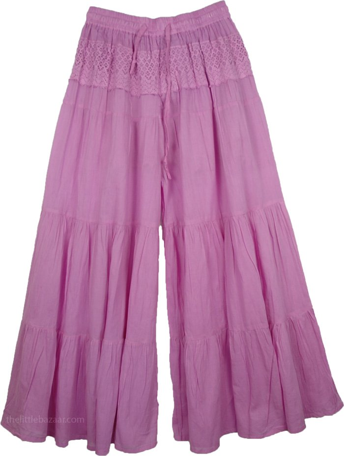 Viola Gaucho Palazzo Pants Split Skirt | Clothing | Split-Skirts-Pants