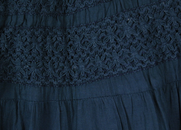 Royal Blue Palazzo Divided Skirt