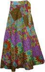 Floral Frenzy Wrap Beach Skirt