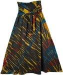 Sangria Tie Dye Pull-On Skirt