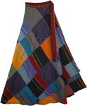 Hippie Cotton Patchwork with Tinsel Skirt