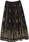 Sycamore Black Long Skirt