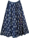 Blue Zodiac Full Circle Persian Skirt