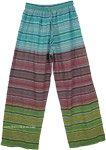 Colorful Seersucker Unisex Pajama Pants