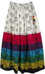 Bohemian Floral Cotton Summer Tall Skirt