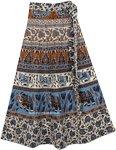 Malta Ethnic Wrap Around Skirt