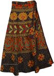 Eclipse Long Wrap Around Skirt